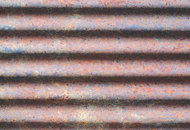 Old iron texture of zinc roof background.