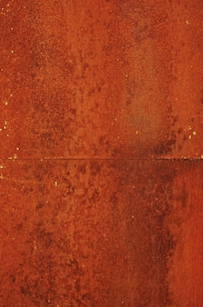 Old iron wall rusted metal texture weathered and rusty metal background
