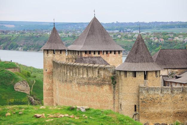 Старая хотинская крепость в украине