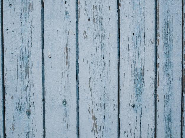 Old light blue weathered wood planks.