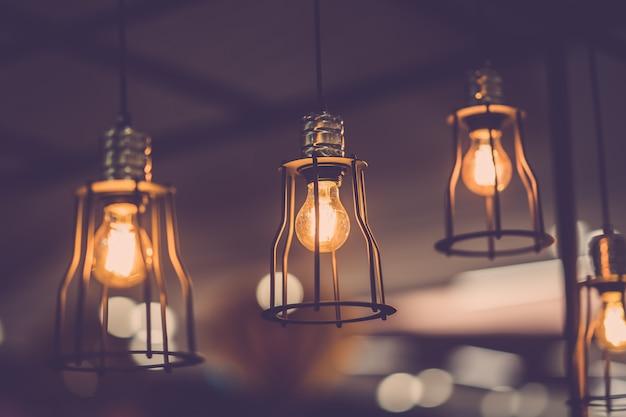 Old light bulb decor