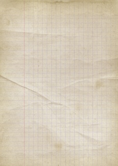 Old lined paper background