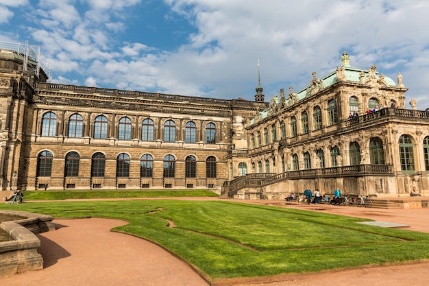 Old masters gallery and museums, dresdner zwinger