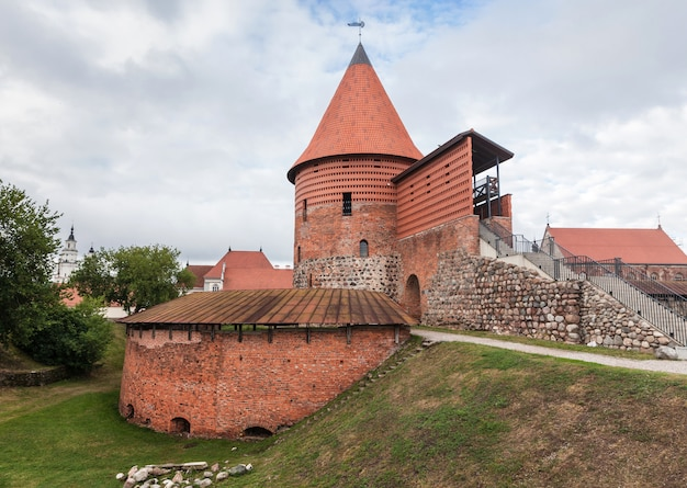 カウナスの古い中世の城