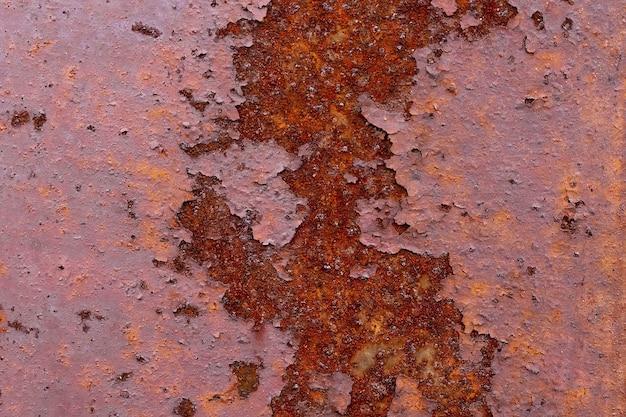 오래 된 금속 철 녹 텍스처입니다.