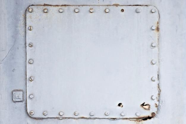 古い金属板テクスチャ背景