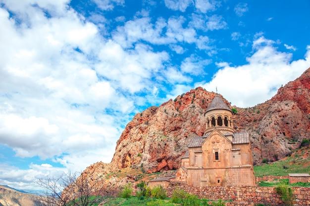 Old monastery of geghard in armenia