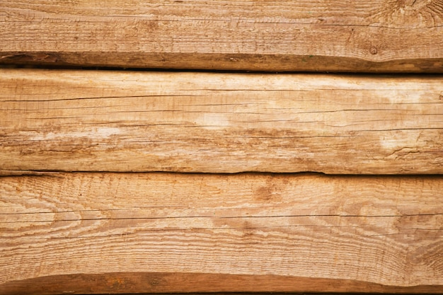 Old natural wooden wall
