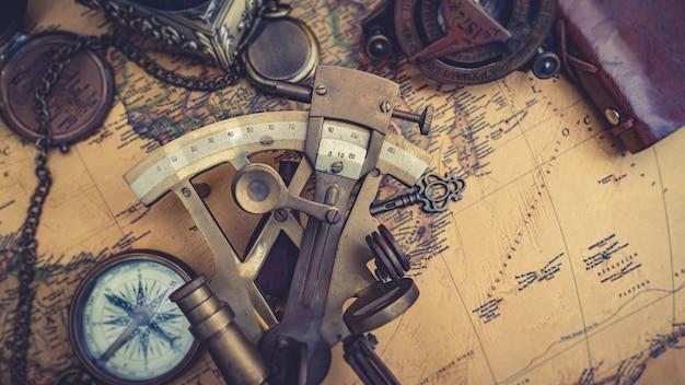 오래된 해상 측정기