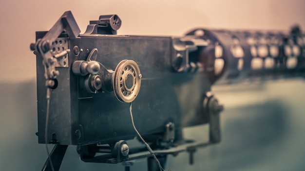 Old nautical video camera
