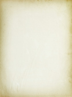 Old note paper isolated background