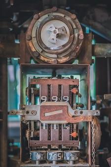 Old oil gauge dispenser