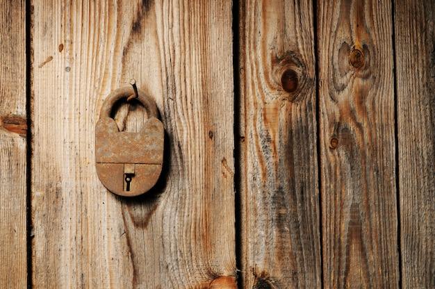 古い南京錠