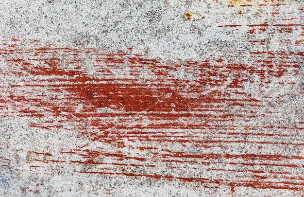 Старая краска и ржавчина