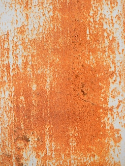 Old paint on metal, cool texture mixture with rust. rusted metal texture