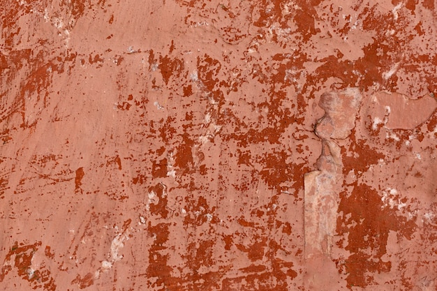 Old paint on wall