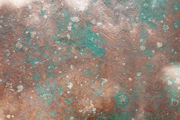 古い塗装鉄の表面