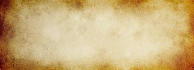 텍스트를 위한 공간이 있는 디자인을 위한 반점 및 줄무늬의 오래된 종이 배너 배경