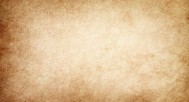 Old paper texture background, vintage retro blank page with grunge spots for design