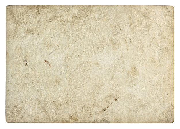 Текстура старой бумаги. винтажная фоторамка изолирована
