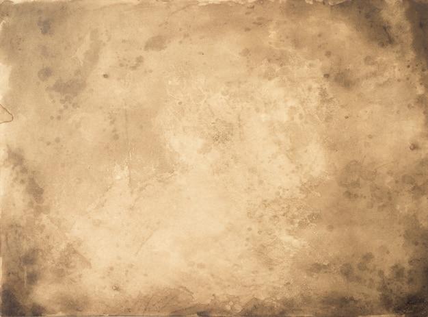 오래 된 종이 빈티지 세 배경 또는 질감