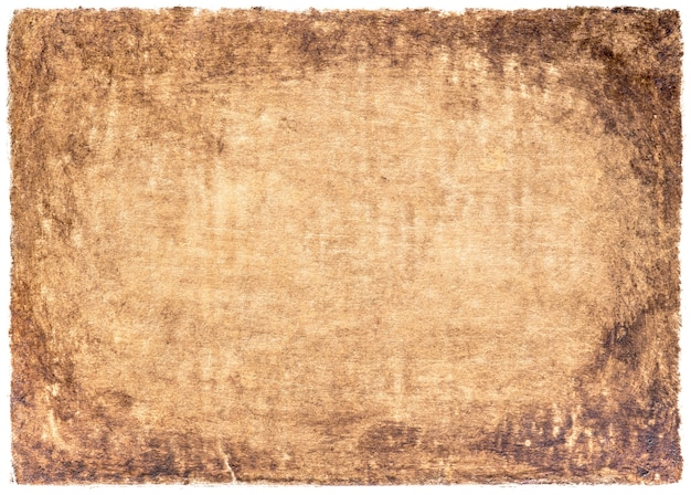 Old paper vintage aged or texture on white background