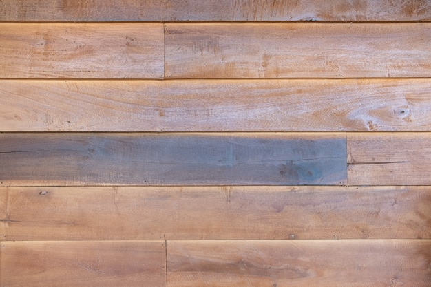 Old peel off wood plank brown paint surface texture background