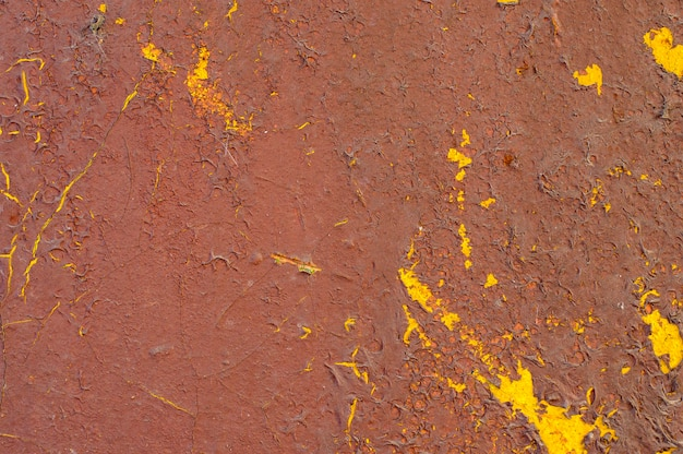 Старая облупленная краска