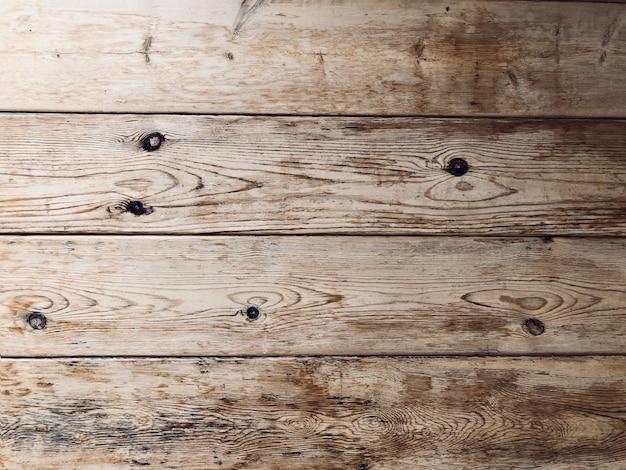 Old pine wood board