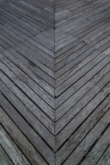 Old planks for use as walkways, wooden bridges, walkways made of wood.