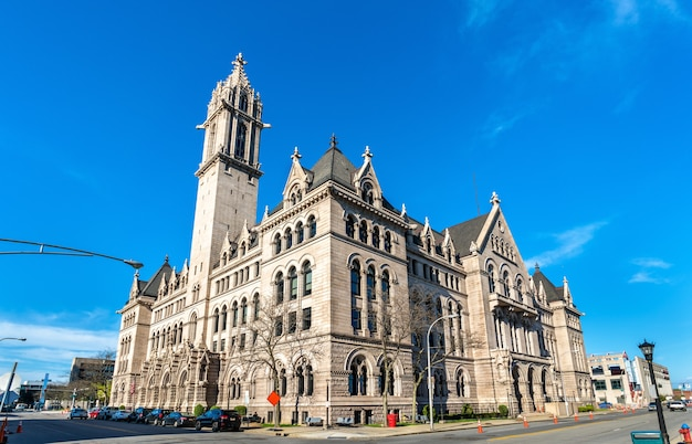 The old post office in buffalo