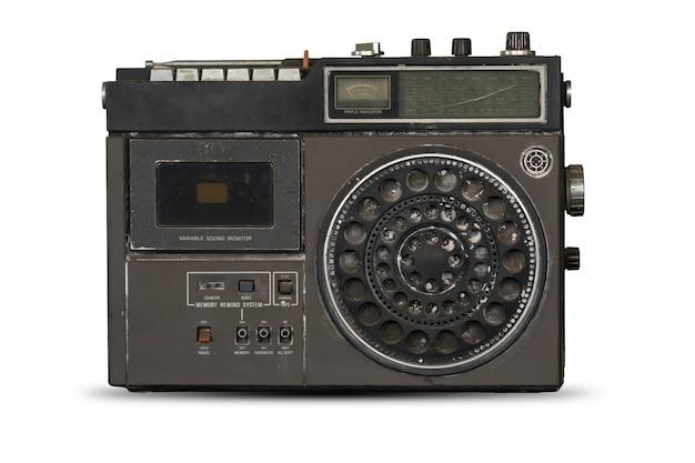Old radio isolate