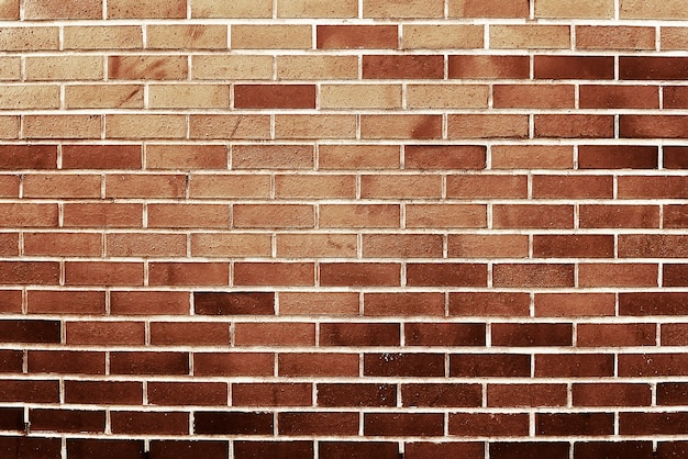 Old red brick background