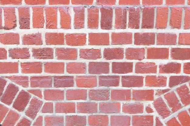 오래 된 붉은 벽돌 블록 벽 질감 배경