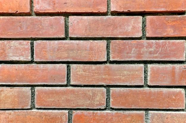 오래 된 붉은 벽돌 월마트