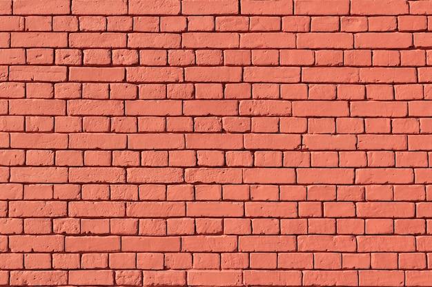 古い赤レンガの壁のテクスチャ。赤レンガの背景の壁