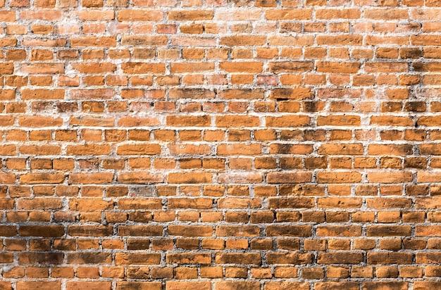 古い赤レンガの壁