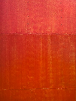 Old red metal sheet surface background