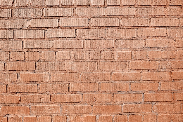 Old red red brick background
