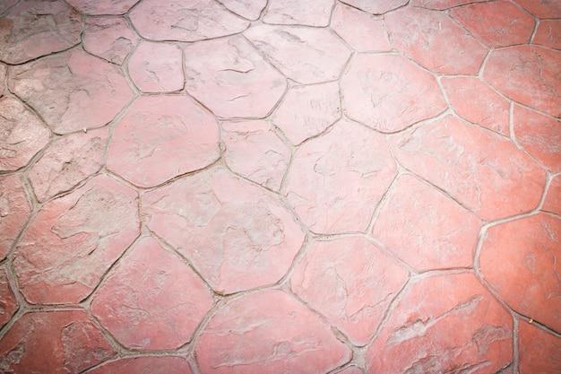 Old red sidewalk texture background