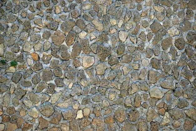 배경 또는 질감에 대 한 오래 된 바위 벽