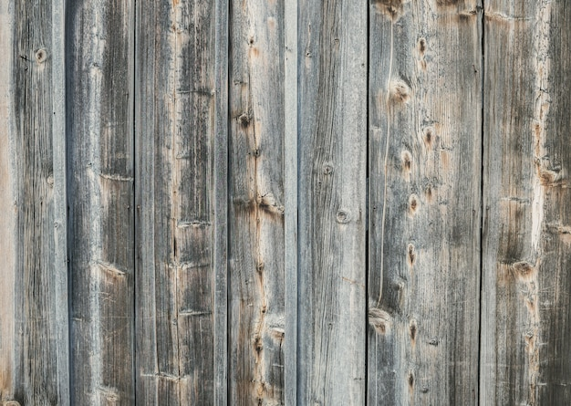 Old rough discolored wooden texture background