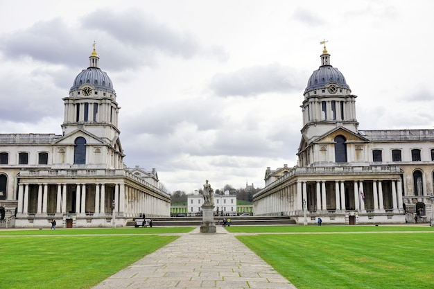 Old royal naval college, greenwich university in london, england