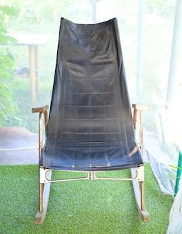 Старое русское ретро кресло-качалка
