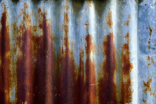 Old & rust metal background