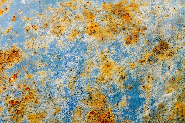 Old rusted iron background