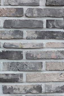 古い素朴なレンガの壁の背景