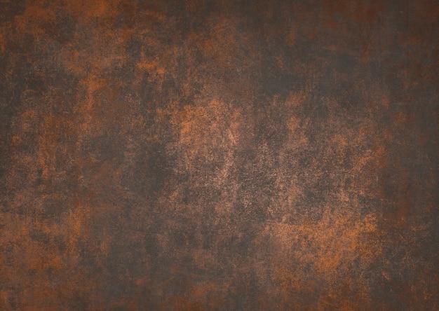 古いさびたコンクリートの金属のテクスチャの背景、美的創造的なデザインのためのヴィンテージグランジ金属の背景