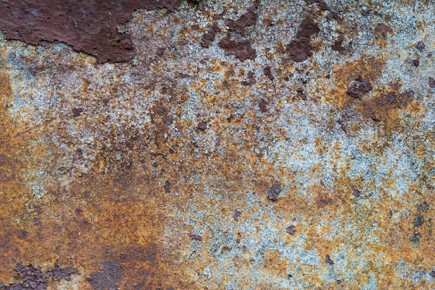 Old rusty metal background texture