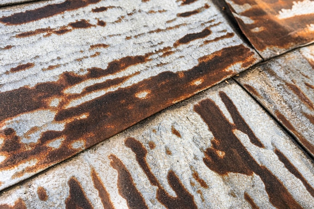 Old rusty metallic surface
